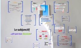 FR IV H: Le subjonctif