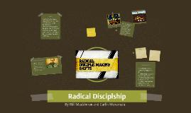 Radical Disciplship