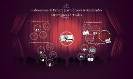 Elaboración de Estrategias Eficaces & Realidades Estratégicas Actuales