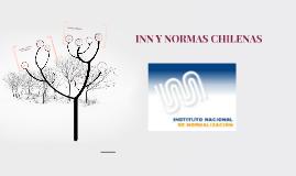 INN Y NORMAS CHILENAS