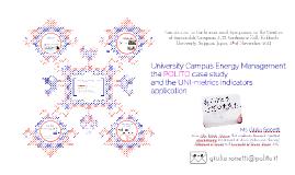 University Campus Energy Management:
