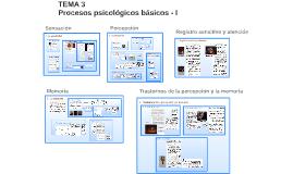 Tema 3: Percepción, Atención, Memoria