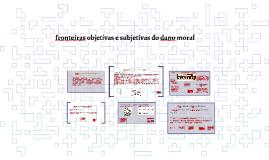 FRONTEIRAS OBJETIVAS E SUBJETIVAS DO DANO MORAL