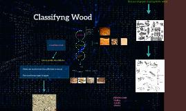 Copy of CLASSIFYNG WOOD
