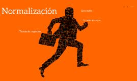 ¡Normalización!