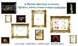 Le Mécénat Culturel pour les mécènes : Définition, intérêt e