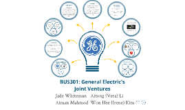 BUS301: General Electric