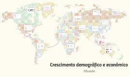 Crescimento demografico e economico