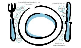 Copy of Técnicas de conservación de los alimentos