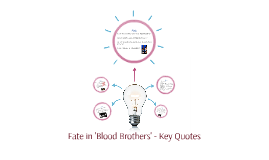 Fate in 'Blood Brothers'