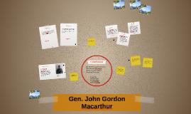 Gen. John Gordon Macarthur