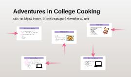 Adventures in College Cooking