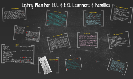 Copy of Entry Plan for ELL & ESL Learners