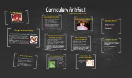 curriculum artifact