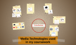 Media Technologies used in my coursework