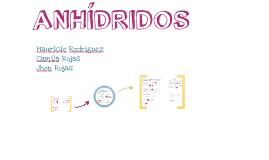 ANHÍDRIDOS