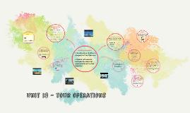 Copy of Unit 13 - tour operations