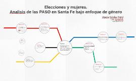 De elecciones y mujeres