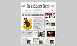 Copy of Equine Science 4 Kids!