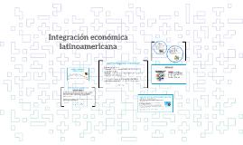 ¿Cuáles son los objetivos de la integración económica?