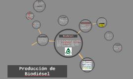 Producción de Biodisel