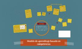 Modelo de aprendizaje basado en competencias