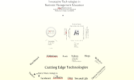 Innovative Technologies in Business Management Education - Conference