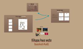 (short) Kikapu kwa wote, basket4all