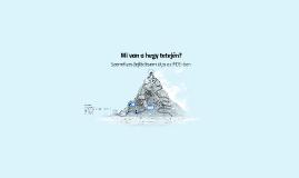 Mi van a hegy tetején? - Nagy Boglárka - Személyes- és vezetésfejlesztés SZIE
