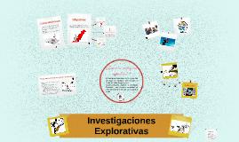 Investigación Explorativa