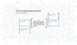 Transcendentalism Quotes