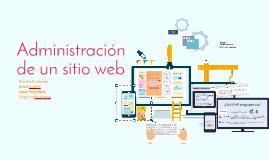 Administración de un sitio web