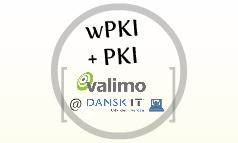 Valimo @ DanskIT