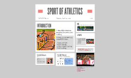 SPORT OF ATHLETICS