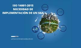 certificación ISO14001:2015