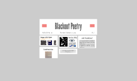 Copy of Blackout Poetry