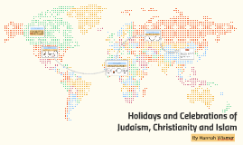 Holidays and Celebrations of Judaism, Christianity and Islam