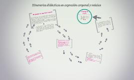 TEXTO 9 ITINERIOS DIDACTICOS EN EXPRESION CORPORAL Y MUSICA