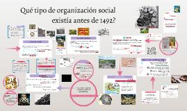 Estado en las sociedades prehispánicas?