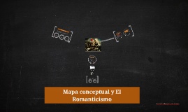 Copy of Mapa conceptual y El Romanticismo