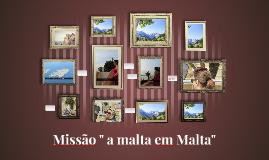 Missão em Malta