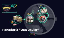 "Panadería ""Don Javier"""