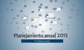 Planejamento anual 2015