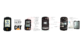 Cat B10 Android Mobiltelefon
