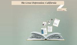 The Great Depression; California