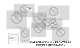 CAPACITACIÓN SIN FRONTERAS I GENERACIÓN