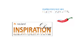 Inspiration Day 2011