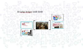 30-åriga kriget 1618-1648