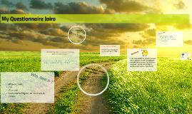 My Questionnaire Jairo