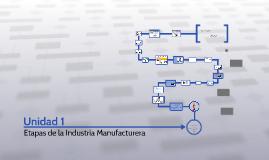 """Unidad 1: """"Etapas de la industria manufacturera"""""""